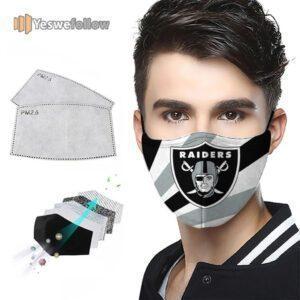 Las Vegas Raiders Face Mask Las Vegas Raiders US Sport Mask