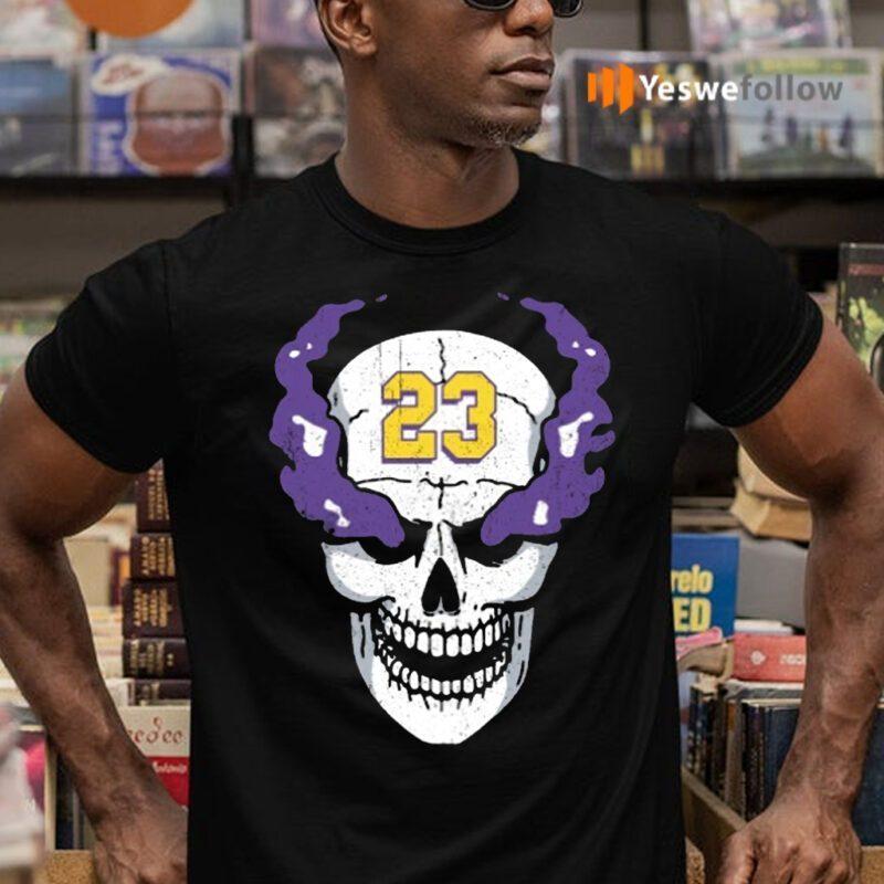 Lebron James Stone Cold Steve Austin Skull Shirt