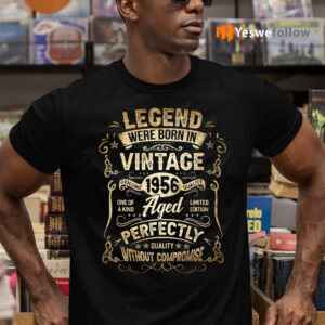 Legends Were Born in 1956 65th Birthday 65 Years Old T-Shirts