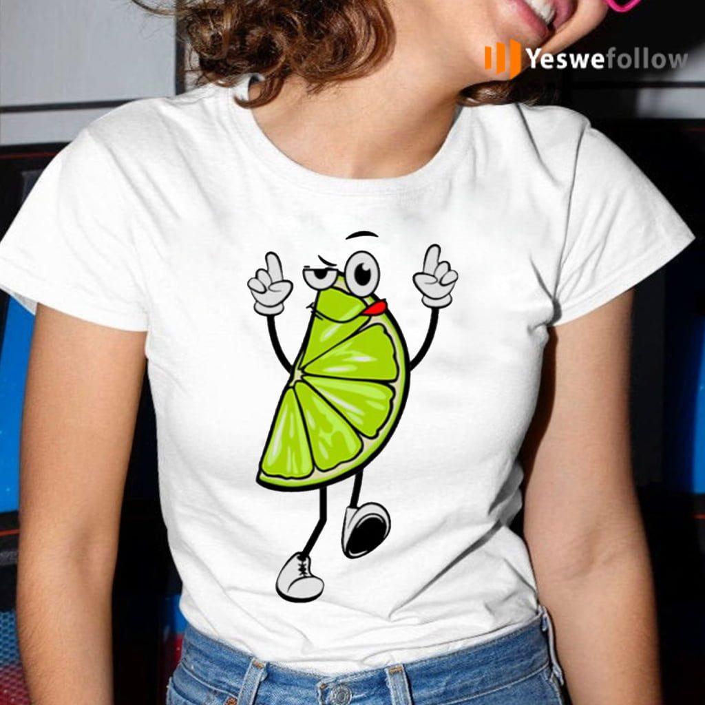 Lime Ladies TeeShirts