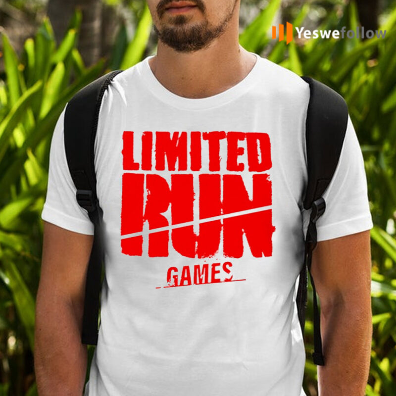 Limited Run Games March 2021 Monthly Shirts