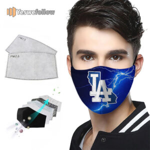 Los Angeles Dodgers Face Mask Los Angeles Dodgers Sport Mask