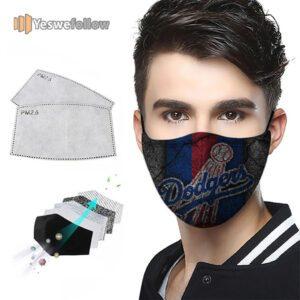 Los Angeles Dodgers Face Mask Los Angeles Dodgers US Sport Mask