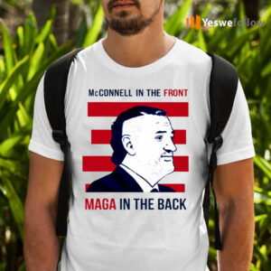 McConnell In The Front Maga In The Back Shirts