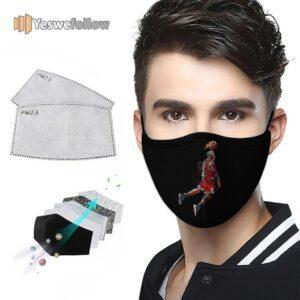 Michael Jordan 5k Retina Ultra HD Cotton Face Mask Michael Jordan 5k Retina Ultra HD Sport Mask