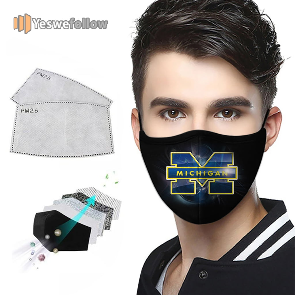 Michigan Wolverines Face Mask Michigan Wolverines Sport Mask