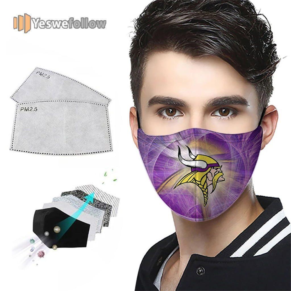 Minnesota Vikings Face Mask Minnesota Vikings Sport Mask
