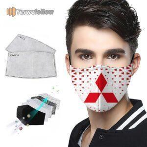 Mitsubishi 2021 Face Mask Mitsubishi Sport Mask
