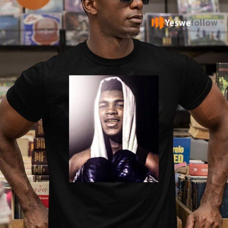 Muhammad Ali The Gold Standard Portrait Shirts