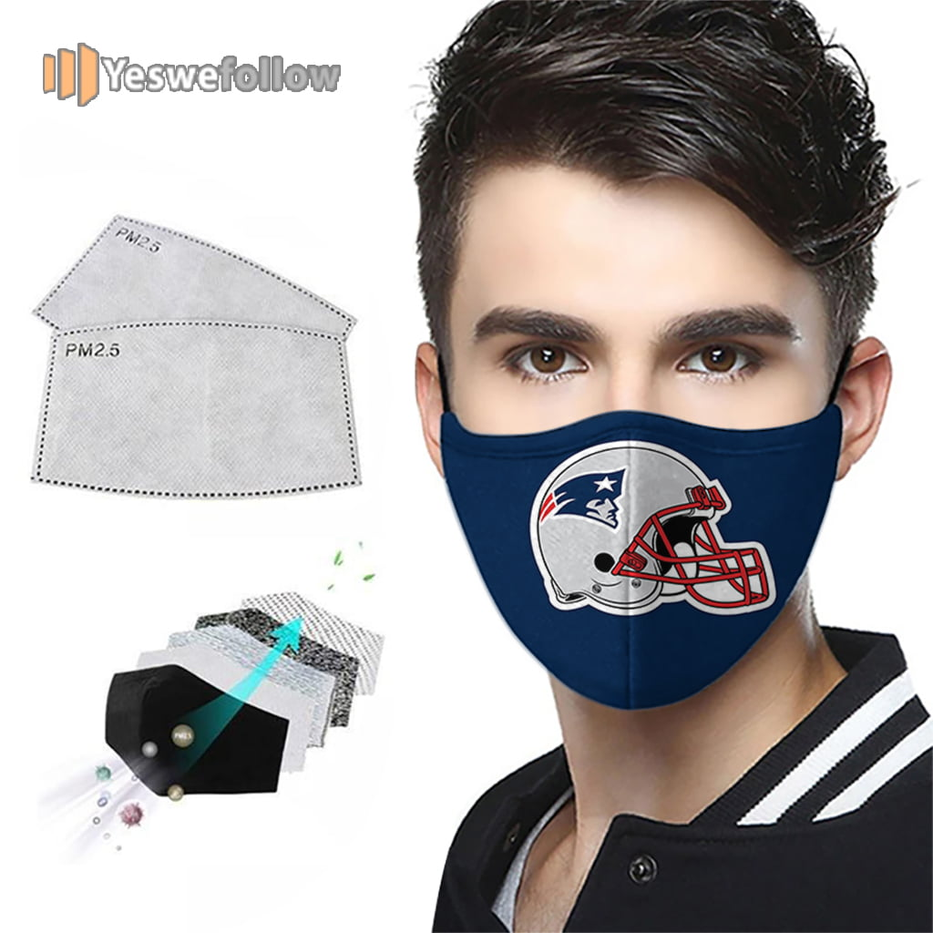New England Patriots Face Mask New England Patriots Sport Mask