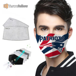 New England Patriots NFL Face Mask New England Patriots NFL Sport Mask