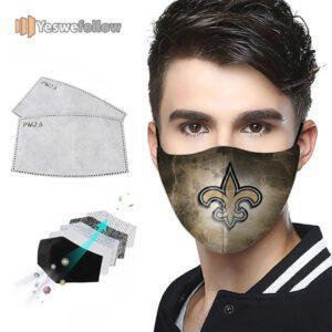 New Orleans Saints Face Mask New Orleans Saints Sport Mask