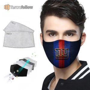 New York Giants 2021 Face Mask New York Giants Sport Mask