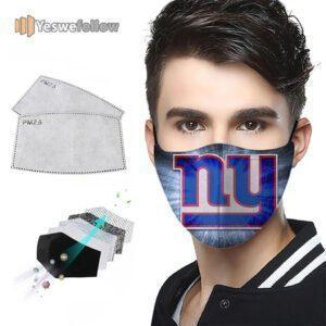 New York Giants Face Mask New York Giants Sport Mask