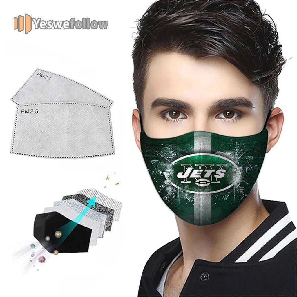 New York Jets Face Mask New York Jets Sport Mask