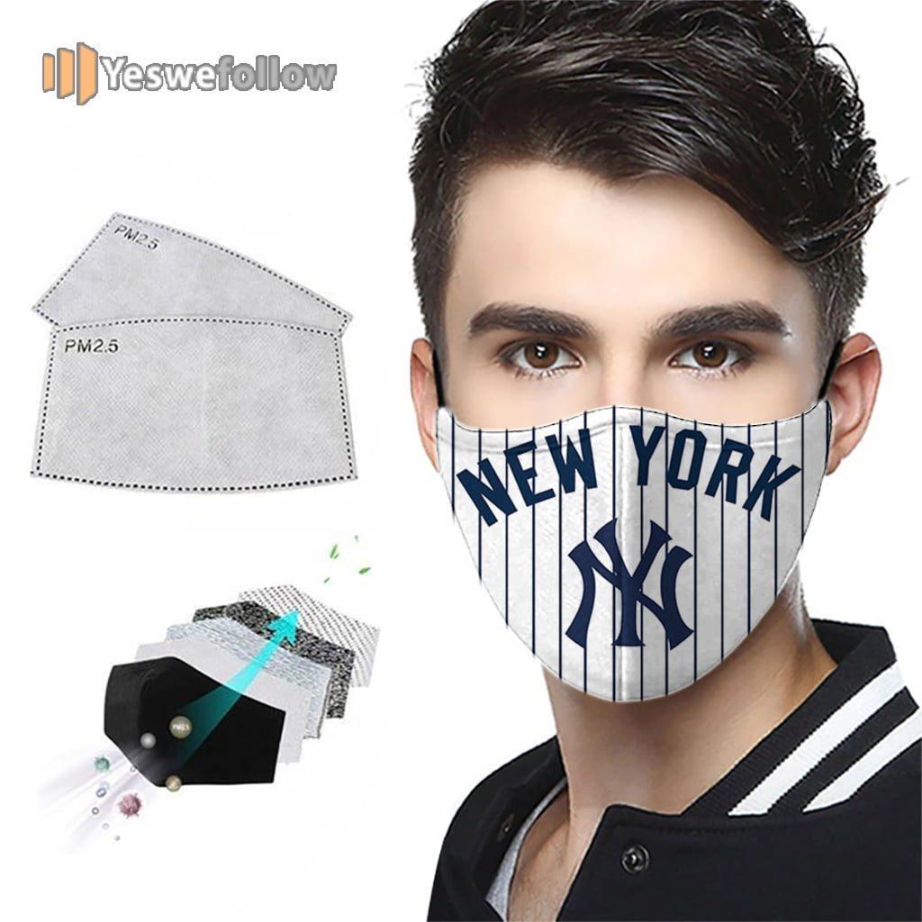 New York Yankees Face Mask New York Yankees Sport Mask