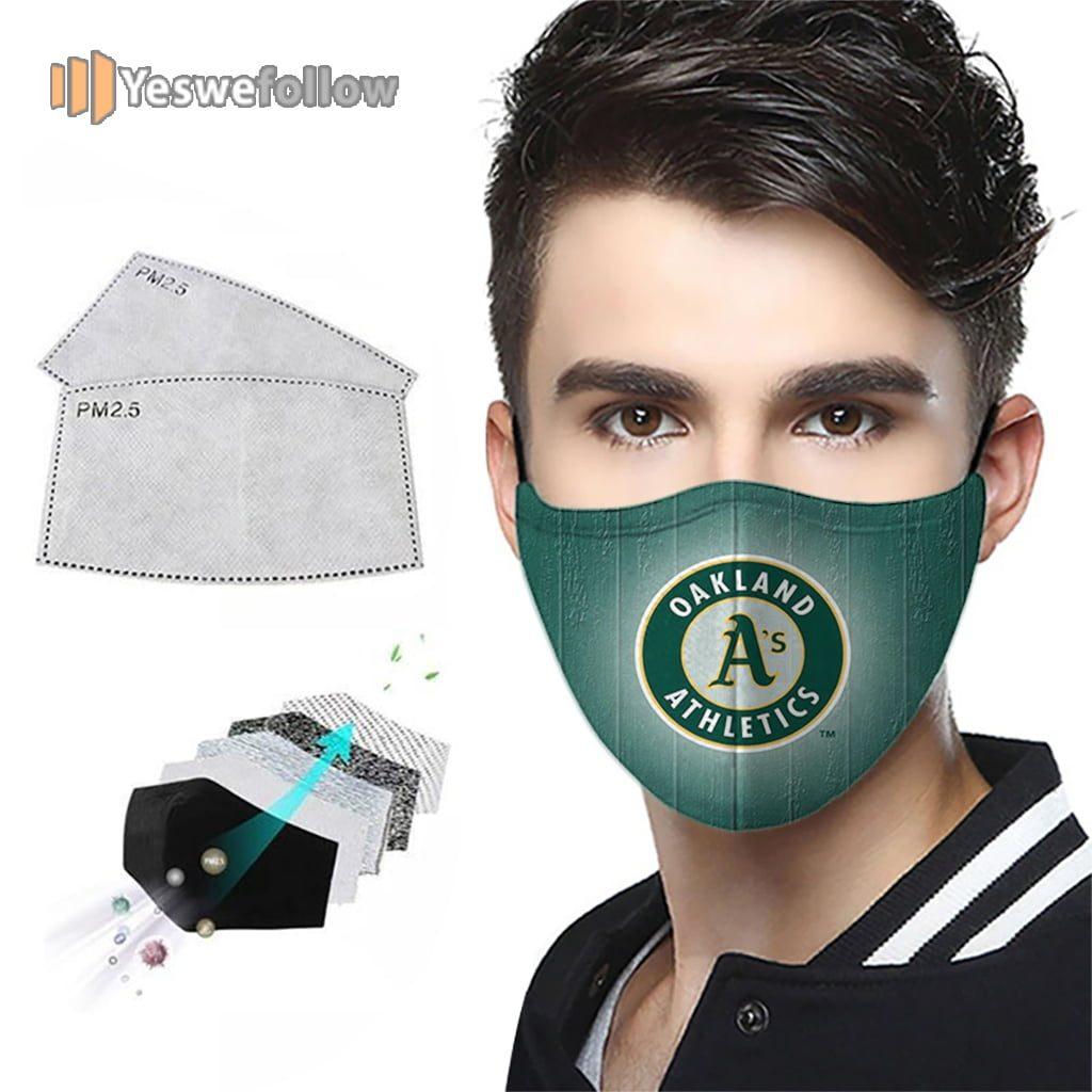 Oakland Athletics Face Mask Oakland Athletics Sport Mask