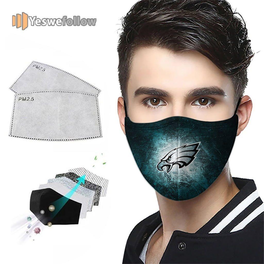 Philadelphia Eagles Face Mask Philadelphia Eagles Sport Mask