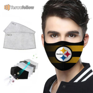 Pittsburgh Steelers Face Mask Pittsburgh Steelers Sport Mask