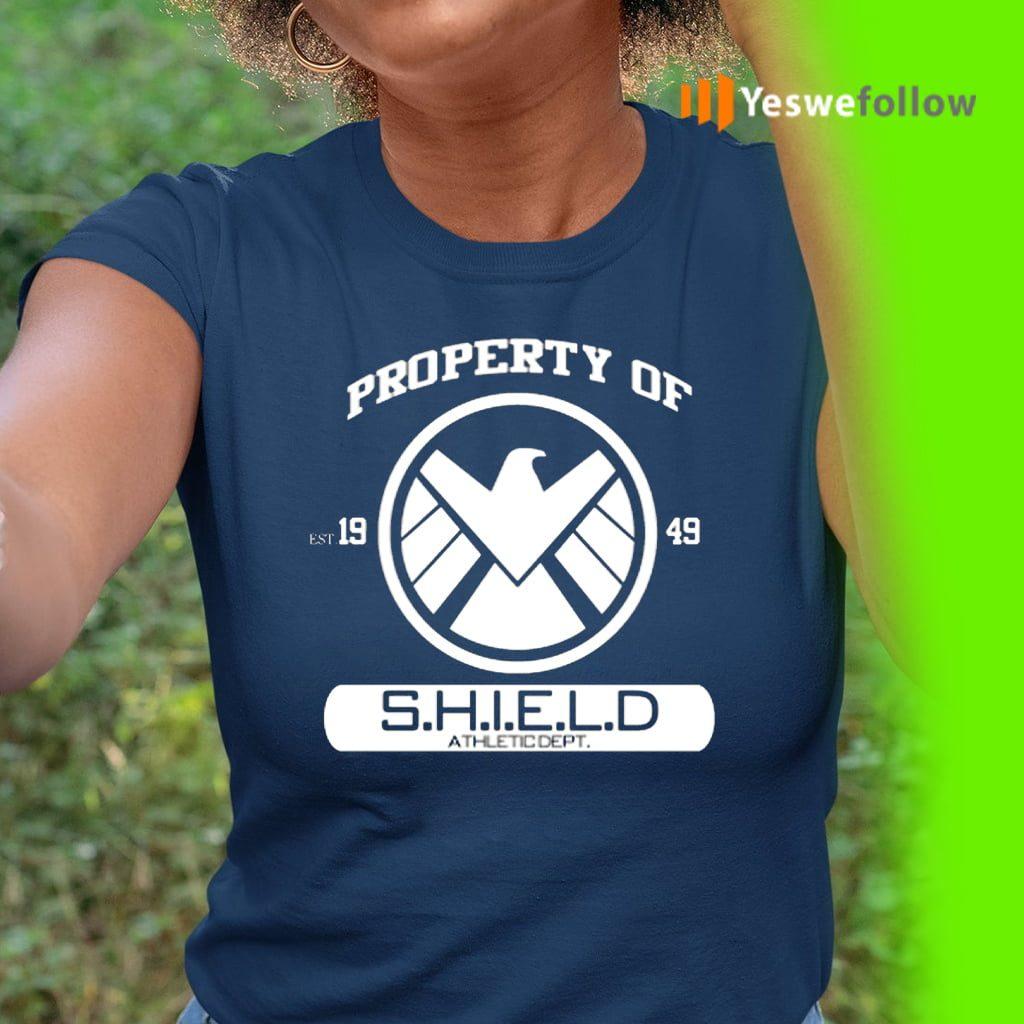 Property Of Est 1949 S.H.I.E.L.D Athletic Dept T-Shirt