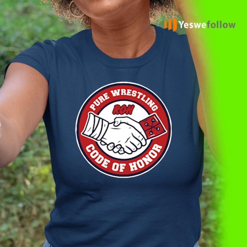 Pure Wrestling Code Of Honor TeeShirts