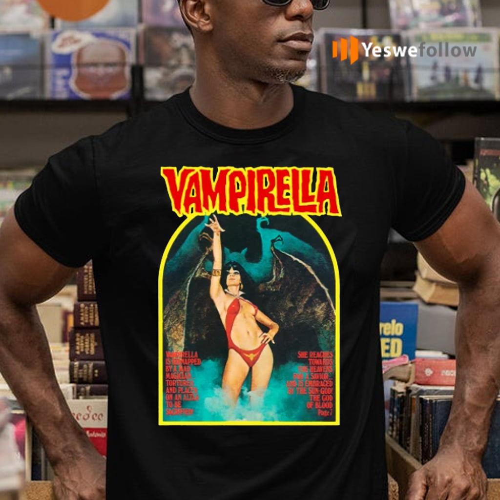 Retro Vampirella cover T-Shirts