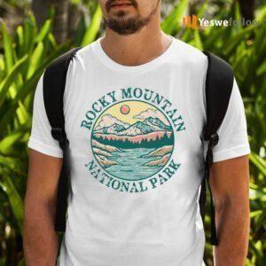 Rocky Mountain National Park Vintage TeeShirt