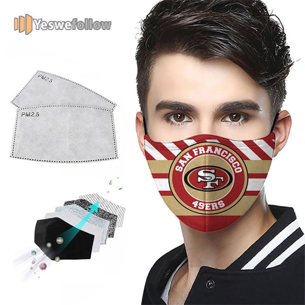 San Francisco 49ers NFL Face Mask San Francisco 49ers NFL 2021 Sport Mask
