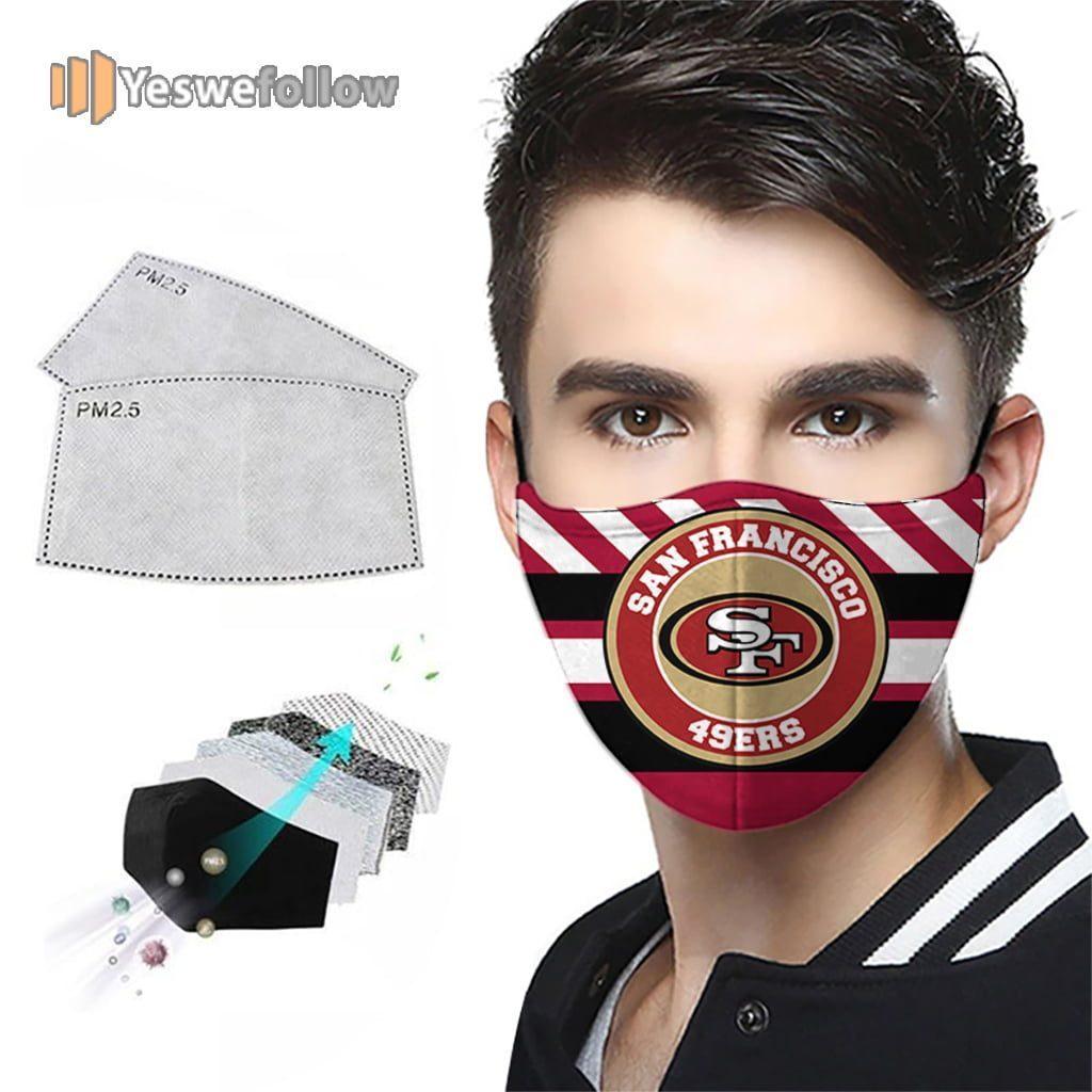 San Francisco 49ers NFL Face Mask San Francisco 49ers NFL Sport Mask