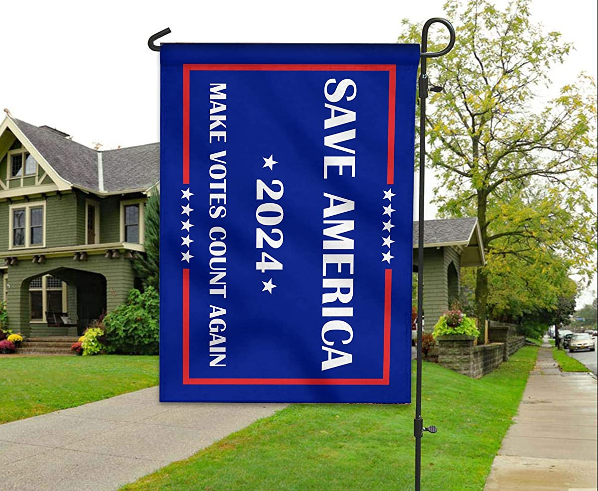 Save America Again – Make Votes Count Again Flag 2024