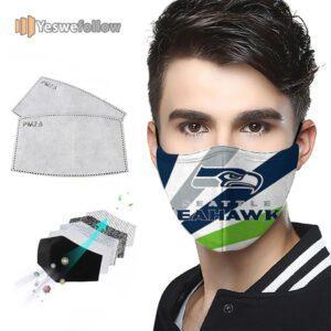 Seattle Seahawks Face Mask Seattle Seahawks USA Sport Mask