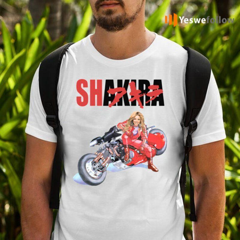 Shakira Akira Bike T-Shirts