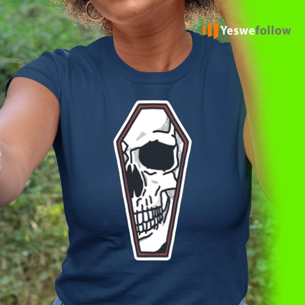 Skull Coffin Artwork Shirts