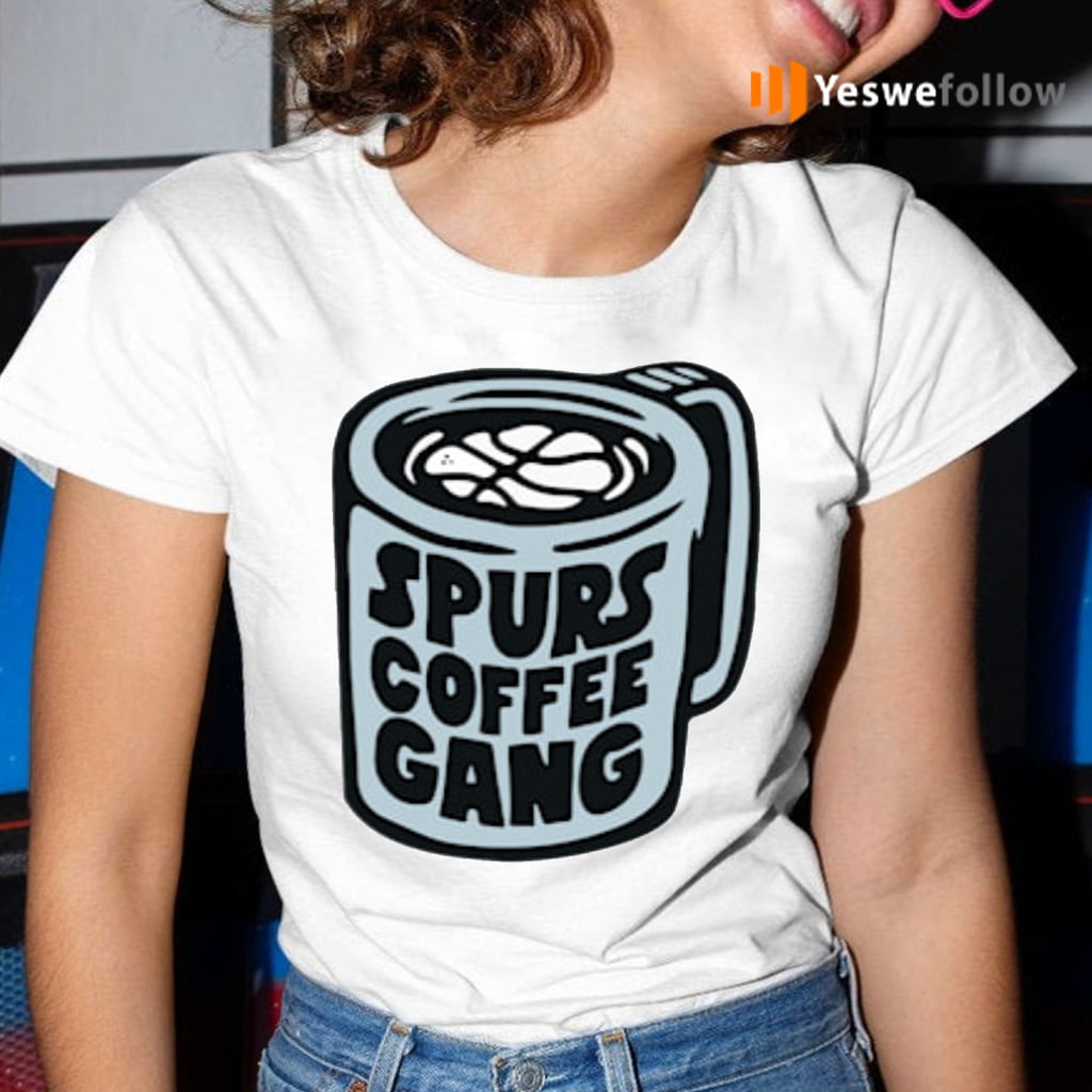 Spurs Coffee Gang TeeShirts