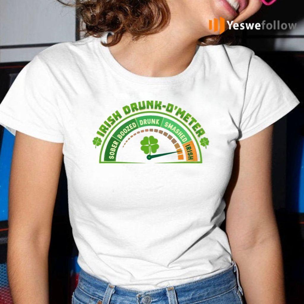 St Patrick 2021 Irish Drink O'meter T Shirt