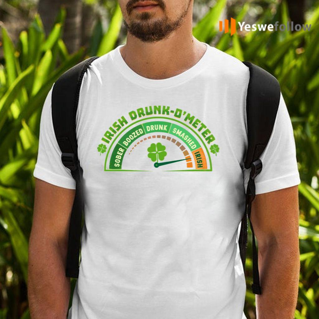 St Patrick 2021 Irish Drink O'meter T Shirts