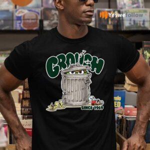 Street Oscar The Grouch Since 1969 Raglan Baseball TeeShirt