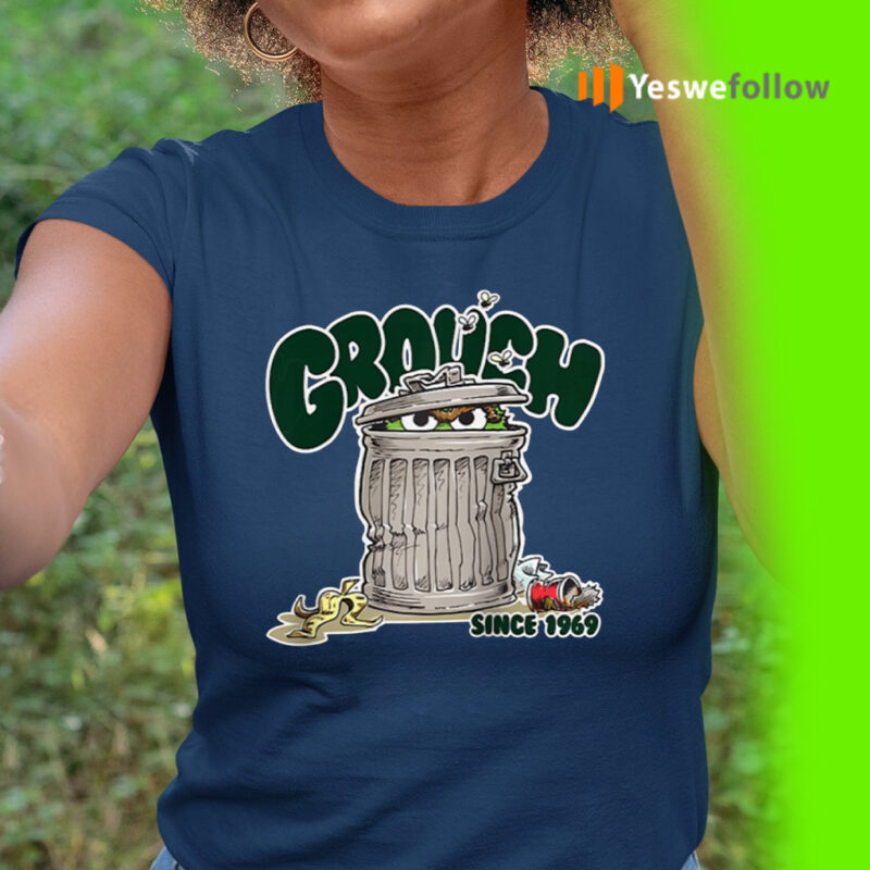 Street Oscar The Grouch Since 1969 Raglan Baseball TeeShirts
