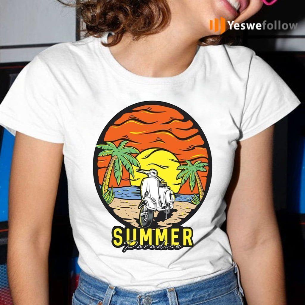Summer Paradise Shirts