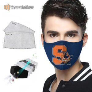 Syracuse University Face Mask Syracuse University Sport Mask