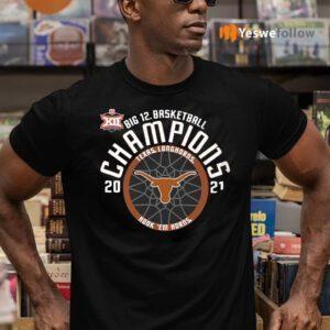 Texas Longhorns 2021 Chamions Big Basketball TeeShirt