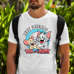Tom And Jerry Best Friends TeeShirt