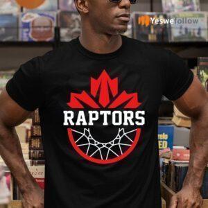 Toronto Canada Raptors Tribute Canadian TeeShirt