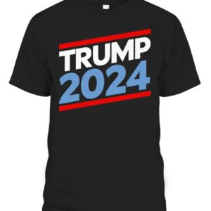 Trump 2024 T-Shirt – Red, White, and Blue Republican Gift