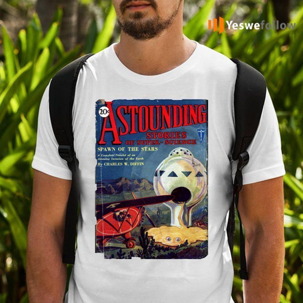 Vintage 1930's Science Fiction Futuristic Classic Comic Book Cover Artwork. Shirt