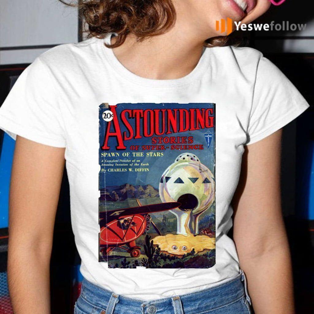 Vintage 1930's Science Fiction Futuristic Classic Comic Book Cover Artwork. Shirts