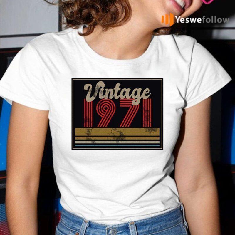 Vintage 1971 Shirts