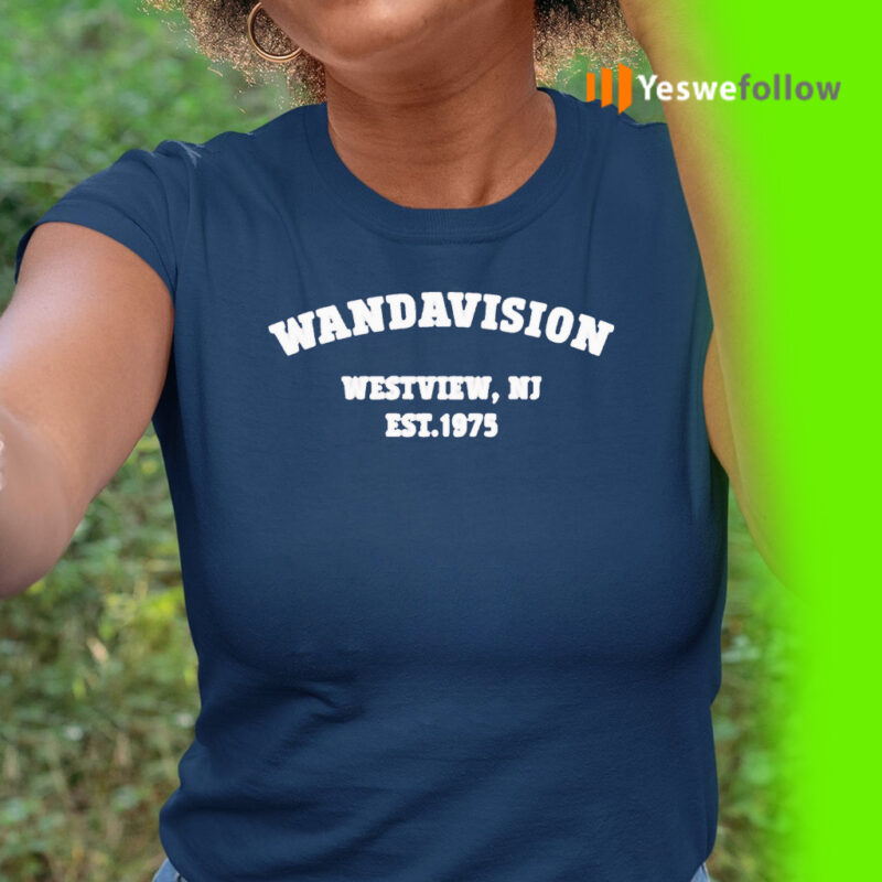 Wandavision Westview, NJ Est 1975 Shirt