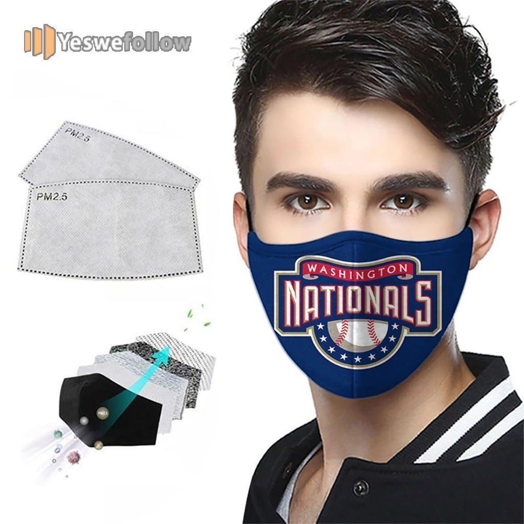 Washington Nationals 2021 Face Mask Washington Nationals Sport Mask