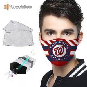Washington Nationals Face Mask Washington Nationals Sport Mask